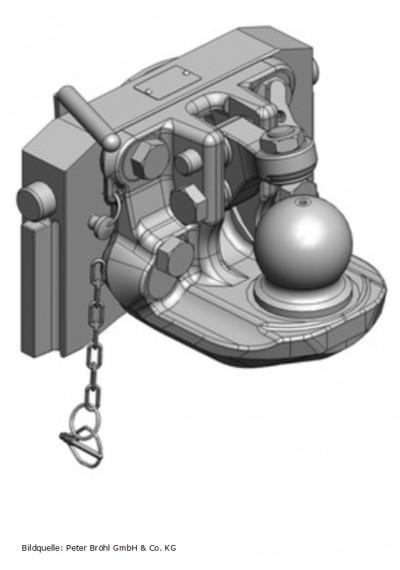 Scharmüller Kugelkupplung K80  320 mm
