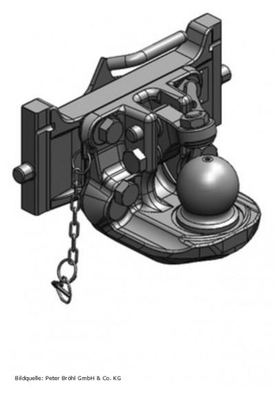 Scharmüller Kugelkupplung K80  309 mm