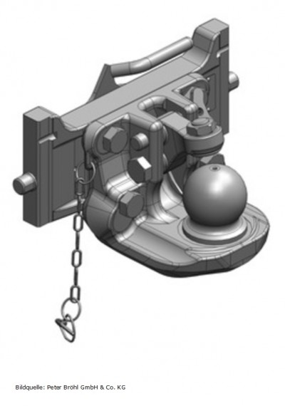 Scharmüller Kugelkupplung K80  322 mm