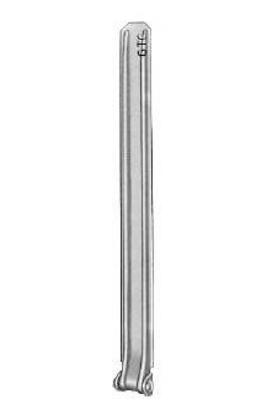Bordwandwandscharnier / Klappenscharniere aus M-Profil L= 220 mm